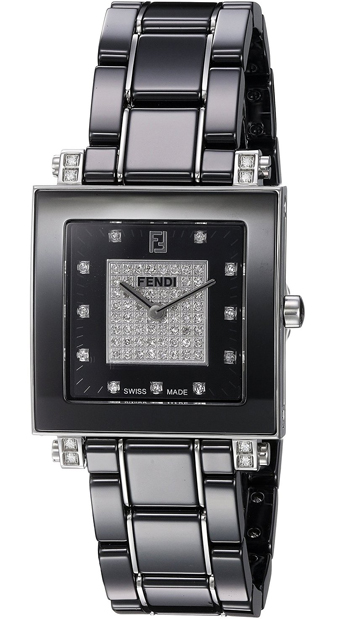 Fendi Ceramic Ladies Watch Model F625110DPDC