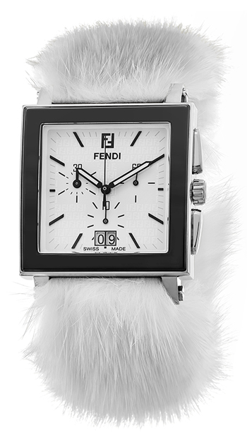 Fendi Ceramic Ladies Watch Model F65114MS
