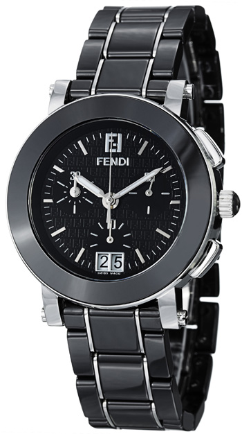 Fendi Ceramic Ladies Watch Model F661110