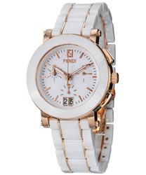 Fendi Ceramic Ladies Watch Model F672140