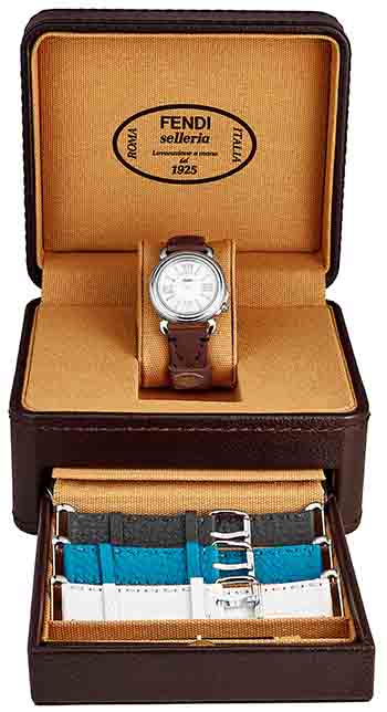 Fendi Selleria Ladies Watch Model F8010345H0SET12
