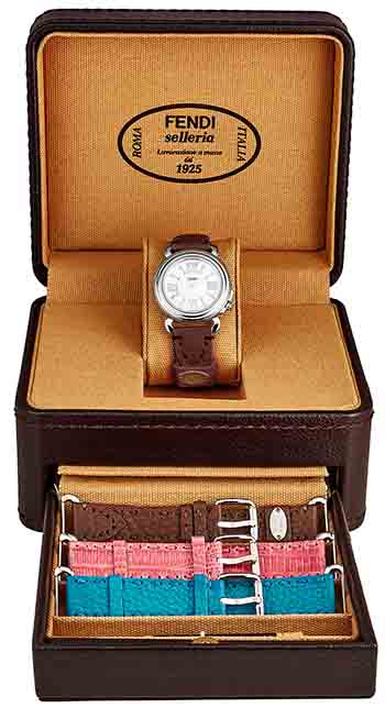 Fendi Selleria Ladies Watch Model F8010345H0SET14