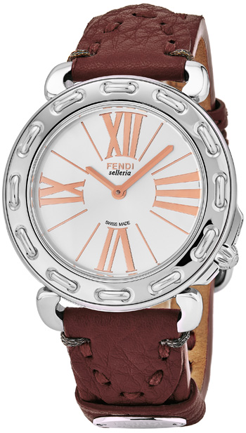 Fendi Selleria Ladies Watch Model F81336H.SSL7S