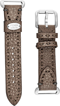 Fendi Brown Fendi Selleria Leather  Watch Bands Watch Model: SS18RE6S