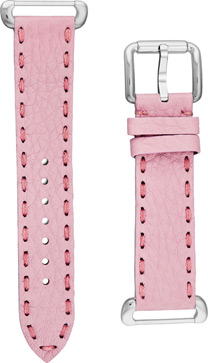 Fendi Pink Fendi Selleria Leather  Watch Bands Watch Model: SSN18R07S