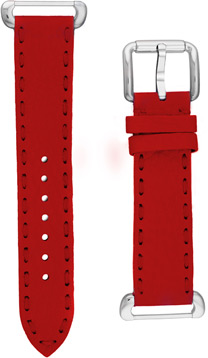 Fendi Red Fendi Selleria Leather  Watch Bands Watch Model SSN18RB7S