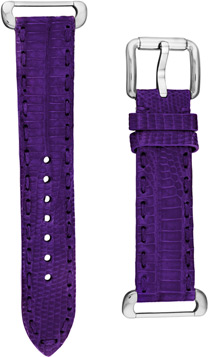 Fendi Purple Fendi Selleria Leather  Watch Bands Watch Model: TSN18R03S