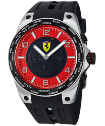 Ferrari World-Time Mens Wristwatch