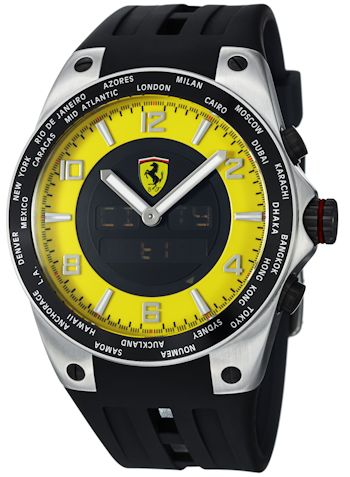 Ferrari World-Time Men's Watch Model FE05ACCYW