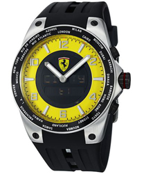 Ferrari World-Time Mens Watch Model FE05ACCYW
