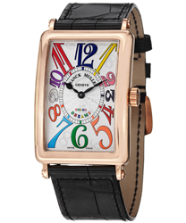 Franck Muller Long Island Ladies Watch Model 1002QZCOLDRM5N