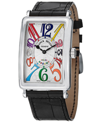 Franck Muller Long Island Ladies Watch Model: 1002QZCOLDRMSS
