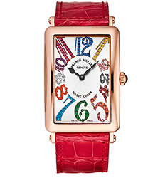 Franck Muller Long Island Ladies Watch Model 1002QZMGCL5NRD