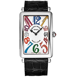 Franck Muller Long Island Ladies Watch Model 1002QZMGCLACBK
