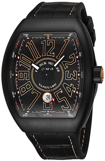 Franck Muller Vanguard Men's Watch Model 41SCBLKBLKGRY