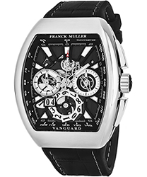 Franck Muller Vanguard Men's Watch Model 45CCGDBLKBLKSS