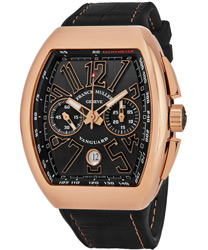 Franck Muller Vanguard Men's Watch Model 45CCGLDBLKGLD