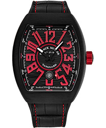 Franck Muller Vanguard Men's Watch Model 45SCBLKBLKREDFL