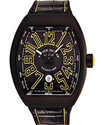 Franck Muller Vanguard Men's Watch Model 45SCBLKBLKYEL
