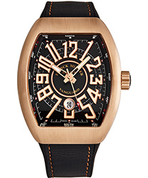 Franck Muller Vanguard Men's Watch Model 45SCCIRBRNBLK