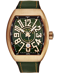 Franck Muller VanguardCirl Men's Watch Model: 45SCCIRBRNGRN