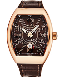 Franck Muller Vanguard Men's Watch Model 45SCGLDBRNGLDBR