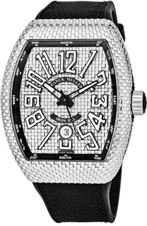 Franck Muller Vanguard pxl Men's Watch Model 45SCPXLSIL
