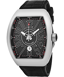 Franck Muller Vanguard Men's Watch Model 45SCSTLBLKSILSH