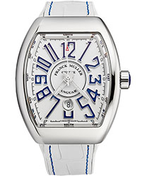 Franck Muller Vanguard Men's Watch Model 45SCWHTWHTBLU
