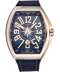 Franck Muller VanguardYACT Men's Watch Model 45SCYACHTBLU5N