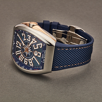 Franck Muller VanguardYACT Men's Watch Model 45SCYACHTBLU5N Thumbnail 2