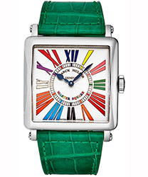 Franck Muller Master Square Ladies Watch Model 6002HQZCDRACGR