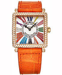 Franck Muller Master Square Ladies Watch Model: 6002LQZCDDR5NOR