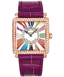 Franck Muller Master Square Ladies Watch Model 6002LQZCDDR5N