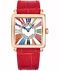 Franck Muller Master Square Ladies Watch Model: 6002LQZCDR5NRD