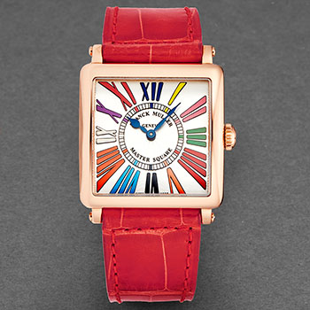 Franck Muller Master Square Ladies Watch Model 6002LQZCDR5NRD Thumbnail 4