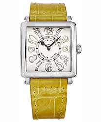 Franck Muller Master Square Ladies Watch Model 6002LQZRLFVACYL