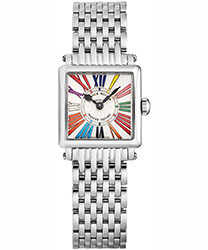 Franck Muller Master Square Ladies Watch Model 6002PQZCDROAC
