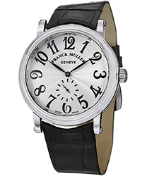 Franck Muller Round Men's Hand Wind Men's Watch Model 7421BS6SS