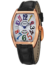 Franck Muller CintrexCurvx Ladies Watch Model: 7502QZCOLDRM5N