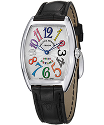 Franck Muller CintrexCurvx Ladies Watch Model 7502QZCOLDRMSS