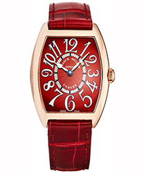 Franck Muller Casabalanca Ladies Watch Model: 7502QZREDCPT5N
