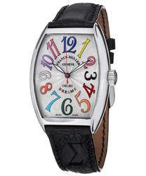 Franck Muller CintrexCurvx Men's Watch Model: 7851SCCOLDRMSS