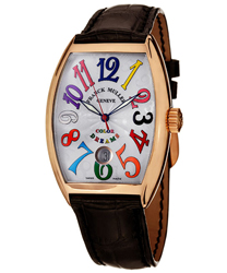 Franck Muller CintrexCurvx Men's Watch Model 7851SCDTCOLDRM5
