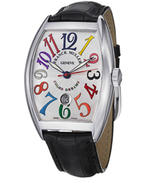 Franck Muller CintrexCurvx Men's Watch Model: 8880SCDTCOLDRMS