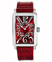 Franck Muller Long Island Ladies Watch Model 952QZREDCPTAC