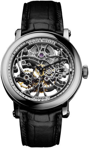 Franck Muller 7 Days Power Reserve Skeleton Men's Watch Model 7042 B S6 SQT WHITE-GOLD