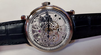 Franck Muller 7 Days Power Reserve Skeleton Men's Watch Model 7042 B S6 SQT WHITE-GOLD Thumbnail 2