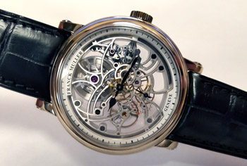 Franck Muller 7 Days Power Reserve Skeleton Men's Watch Model 7042 B S6 SQT WHITE-GOLD Thumbnail 3