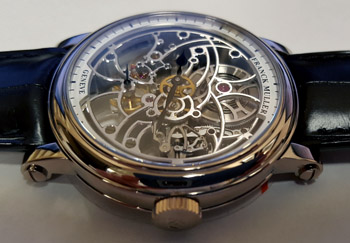 Franck Muller 7 Days Power Reserve Skeleton Men's Watch Model 7042 B S6 SQT WHITE-GOLD Thumbnail 5